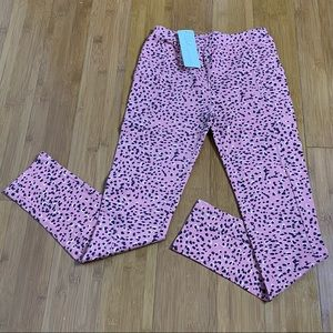 NWT Peek Kelsey Printed Leggings pink XL(12)